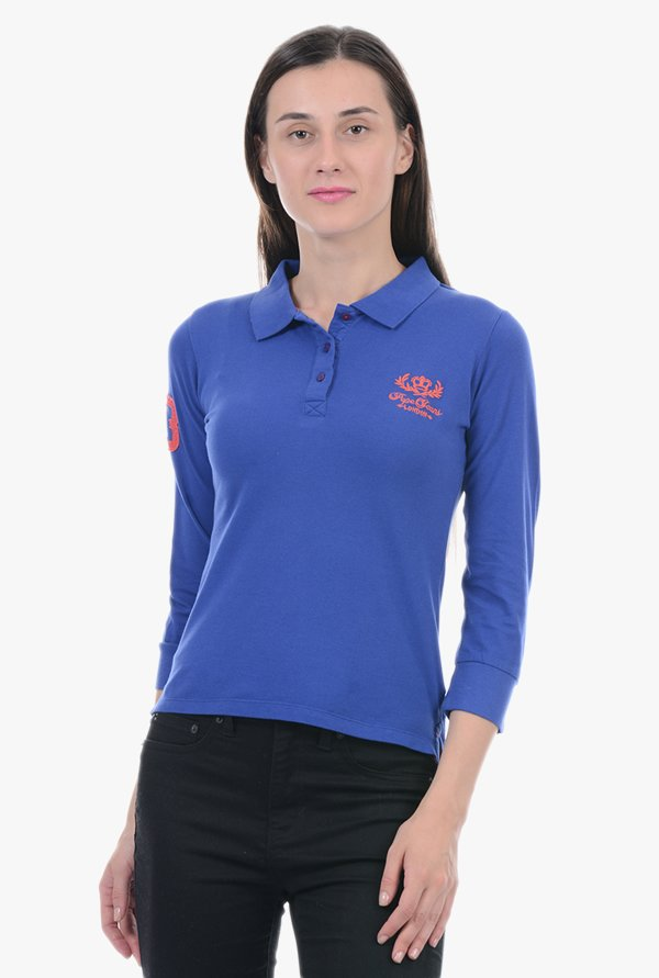 Pepe Jeans Blue Polo T-Shirt