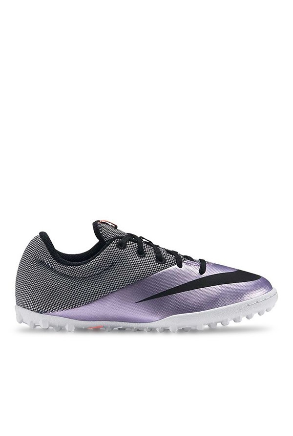8d805fe7ce3b Buy Nike Mercurialx Pro TF Purple & Black Football Shoes for Men at ...