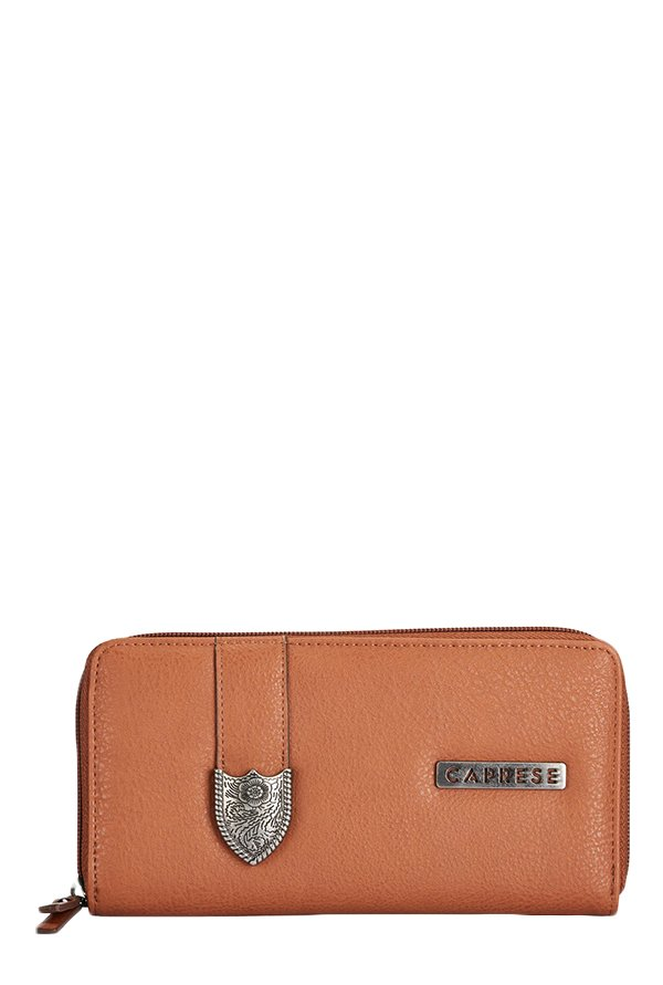 Caprese Miles Tan Solid Wallet