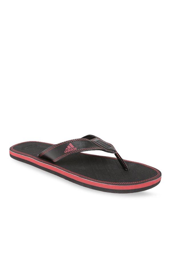 1c6248c7c Buy Adidas Brizo 4.0 Black   Red Flip Flops for Men at Best Price   Tata  CLiQ