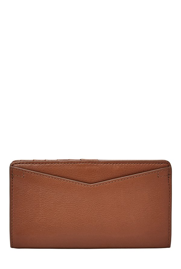 Fossil Caroline RFID Brown Solid Leather Wallet