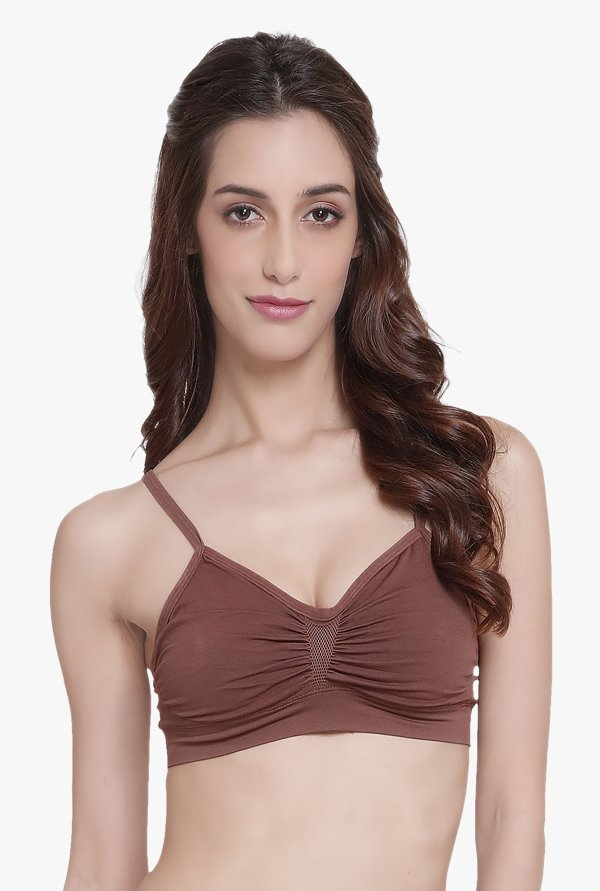 C9 Brown Non Wired Non Padded Bra