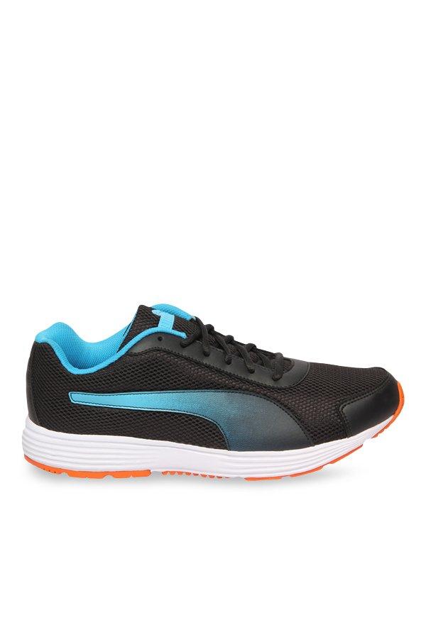 Buy Puma Aeden Black \u0026 Blue Danube