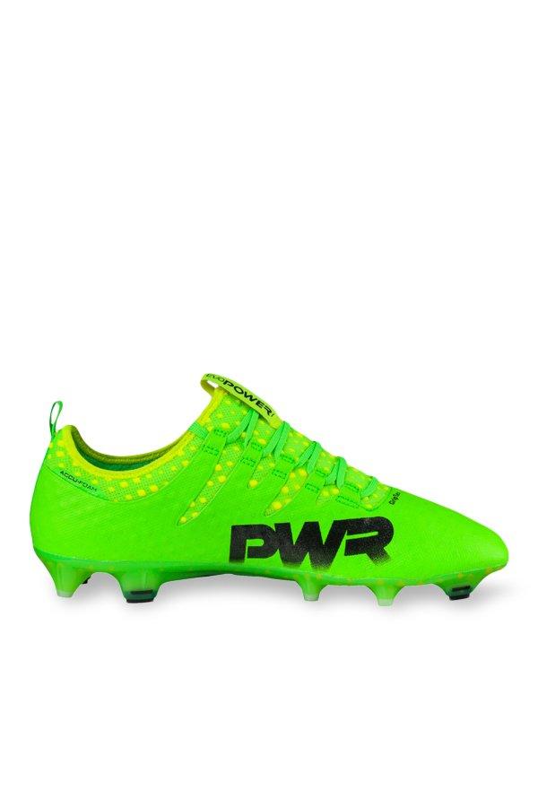 1ab5e1dd9f3 Buy Puma evoPOWER Vigor 1 FG Green Gecko   Black Football Shoes for Men at Best  Price   Tata CLiQ