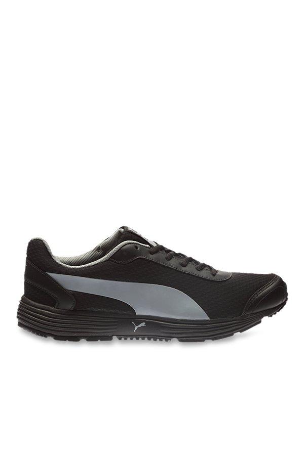 Buy Puma Reef Fashion DP Black \u0026 Quarry