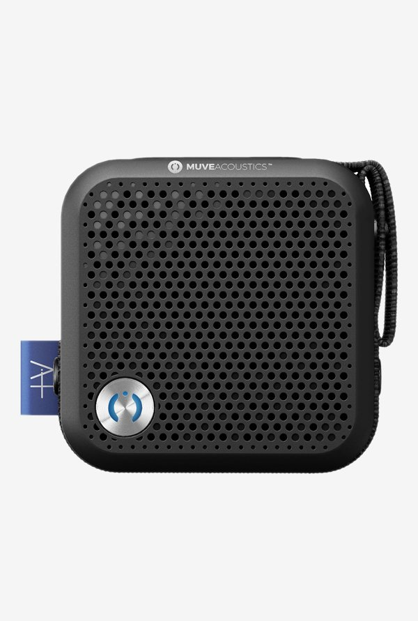MuveAcoustics MA-2000SB A Plus 4W Bluetooth Speaker (Black)
