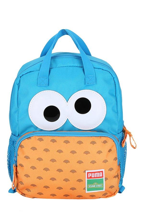 d41ccbb810728b Buy Puma Sesame Street Blue Danube   Orange Applique Backpack Online At  Best Price   Tata CLiQ