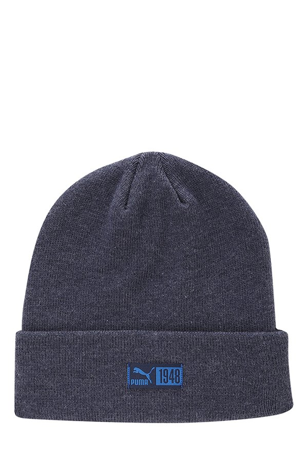 1ad727c1ed5 Buy Puma Archive Classic Peacoat Solid Fabric Beanie Online At Best ...