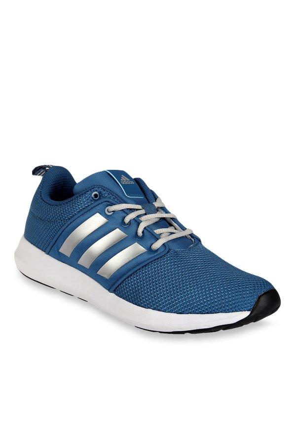 Buy Adidas Nepton Blue \u0026 Silver Running