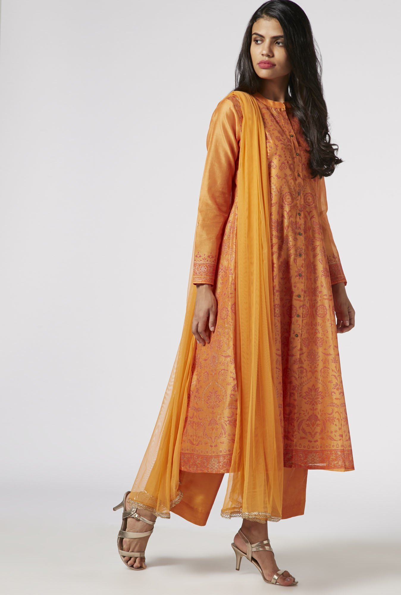 Vark by Westside Orange Ethnic Set