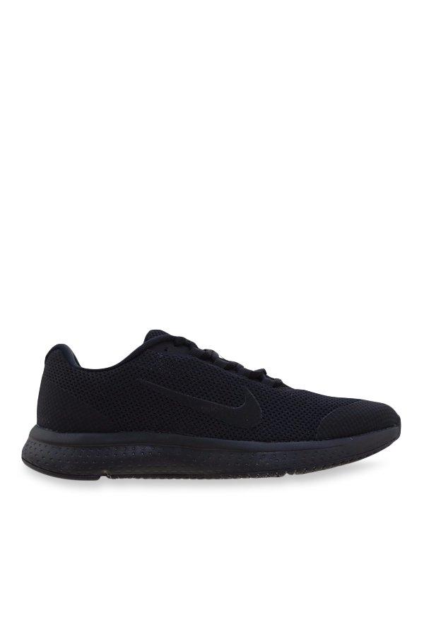 cc9f56e5f3c Buy Nike Runallday Black Running Shoes for Women at Best Price   Tata CLiQ