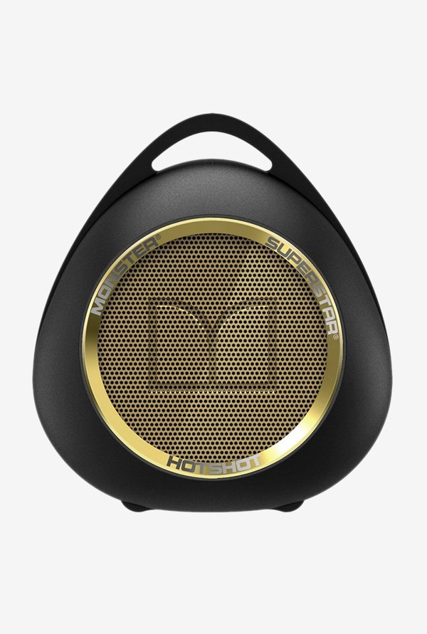 Monster HOTSHOT Bluetooth Speaker (Black/Gold)