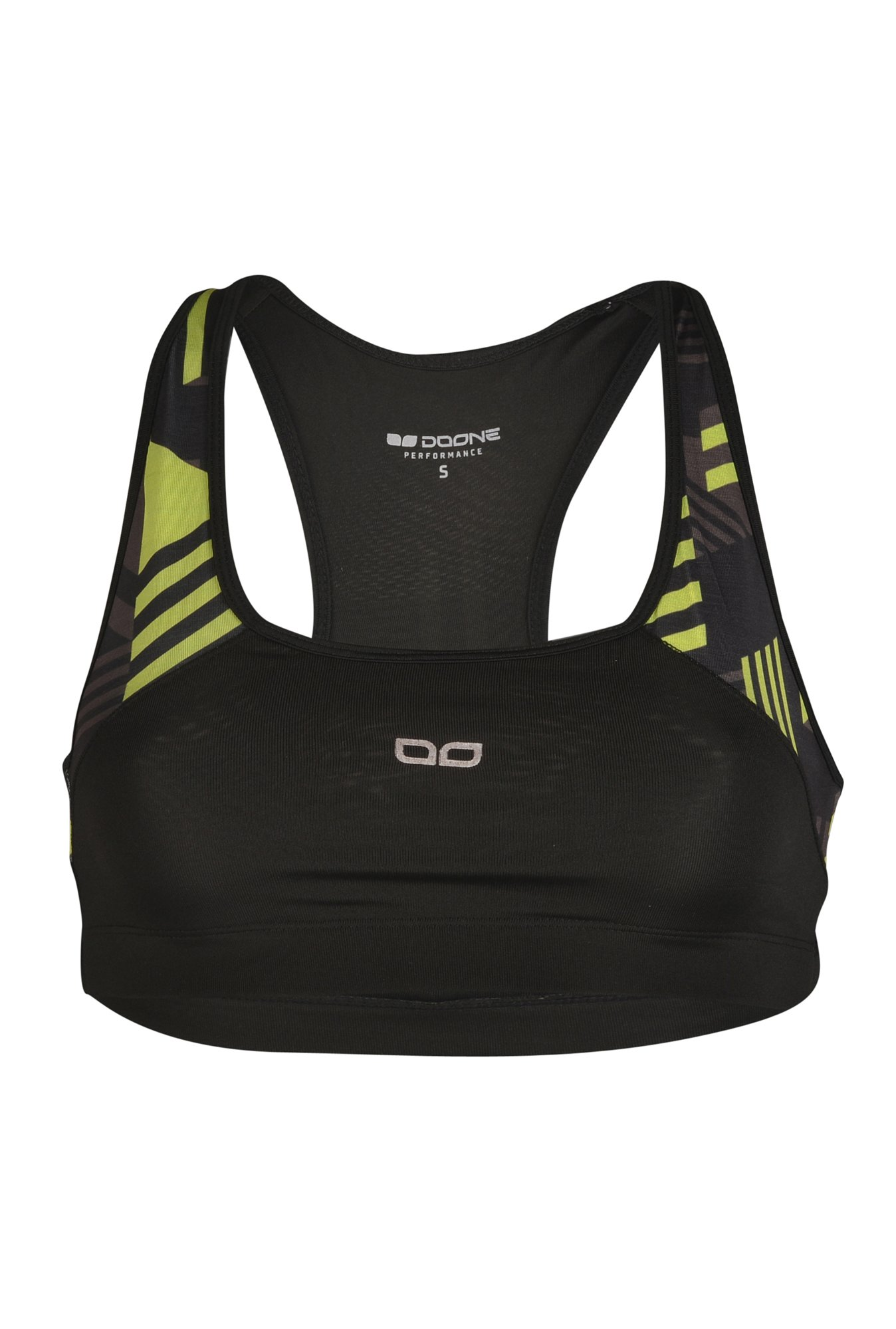 Doone By Sportzone Green Fitness Top