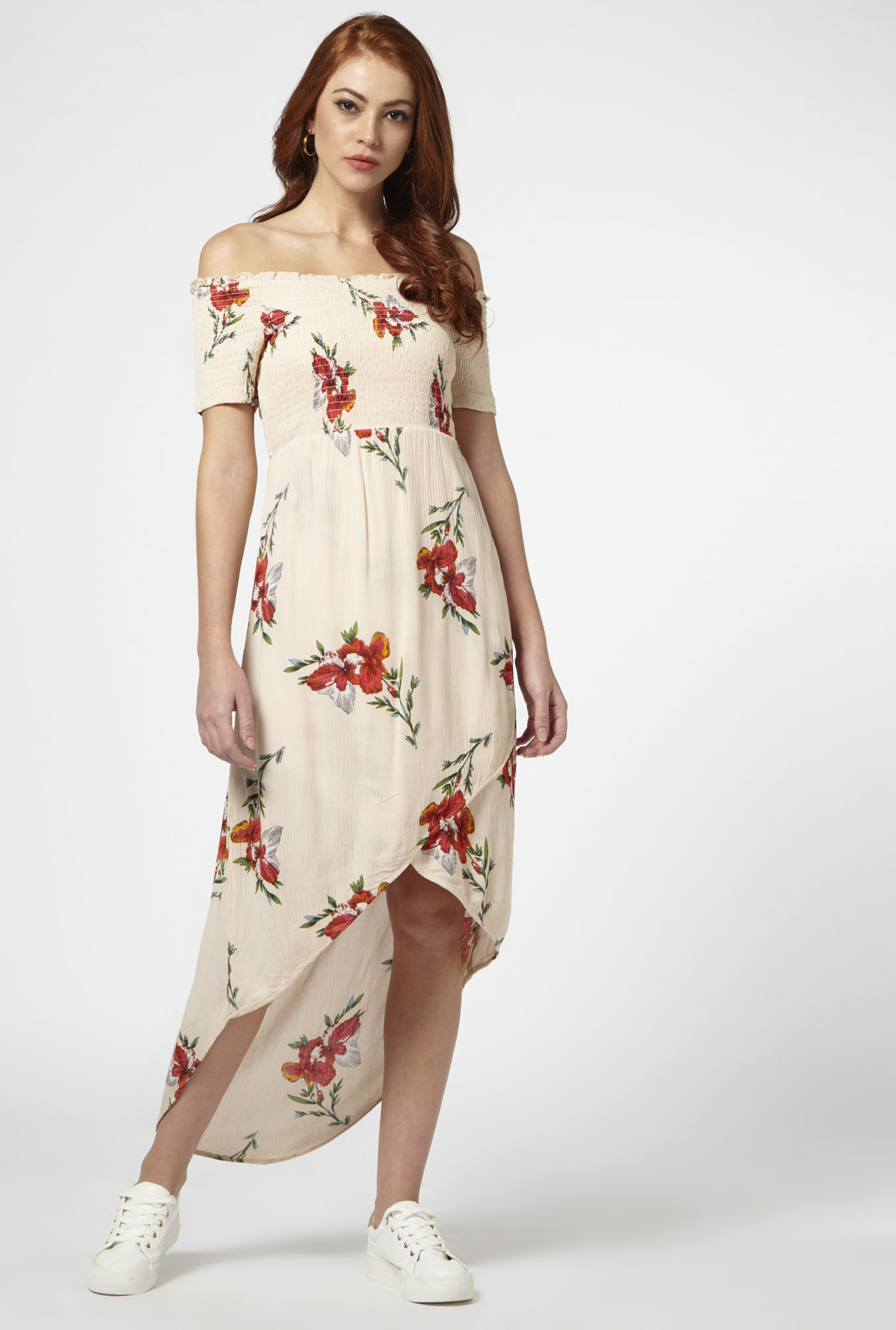 Nuon by Westside Peach Dress