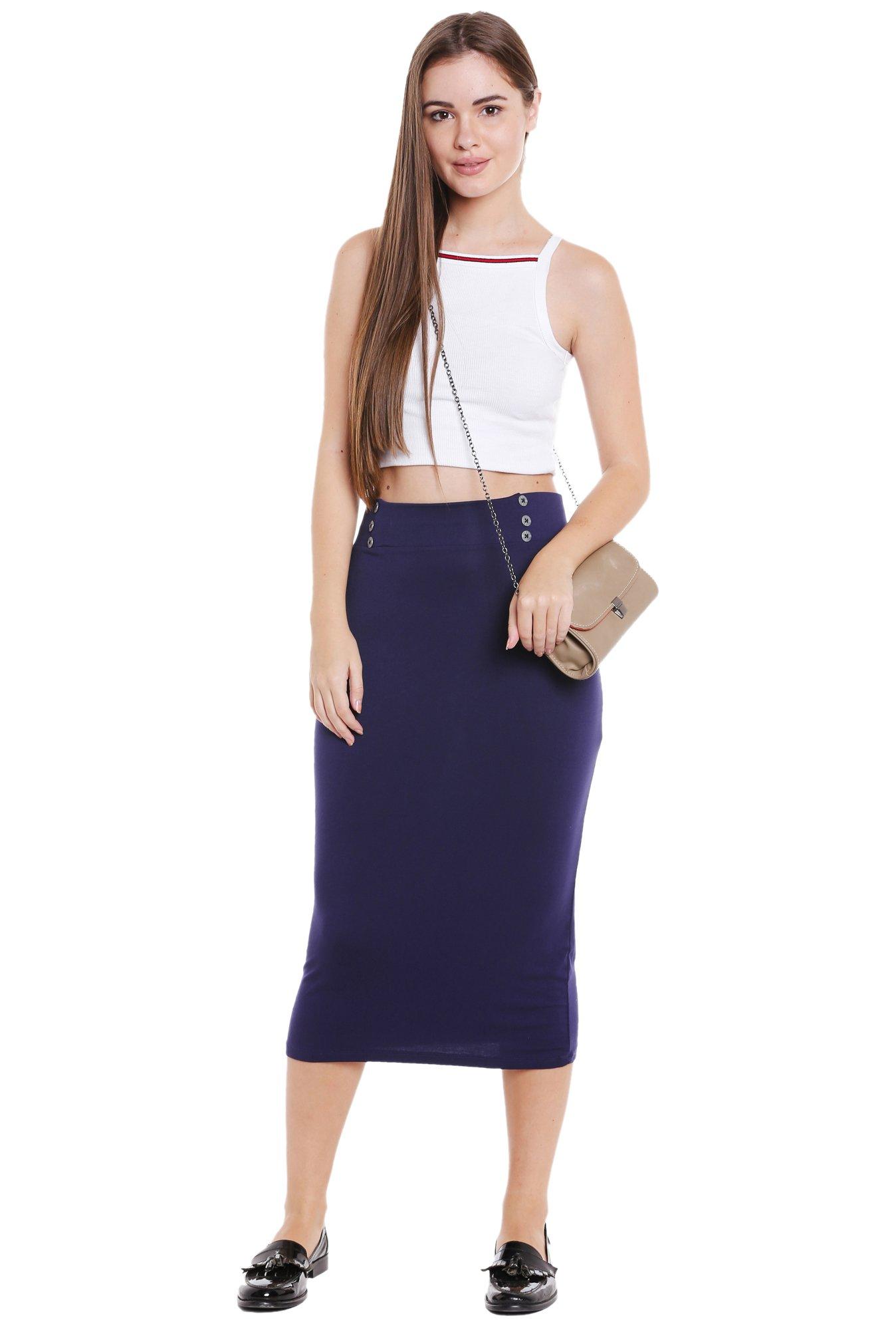 e41391f06 Midi Pencil Skirts Online India   Saddha