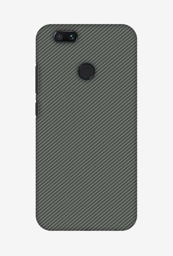 on sale 0e071 9d996 Buy Amzer Neutral Grey Texture Hard Shell Designer Case for Mi A1 ...