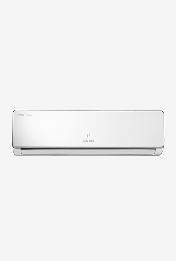 Voltas 1.5 Ton 3 Star (BEE Rating 2018) 183V SZS Copper Inverter Split AC (White)