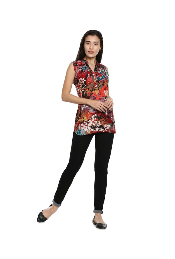 Soch Red Printed Tunic