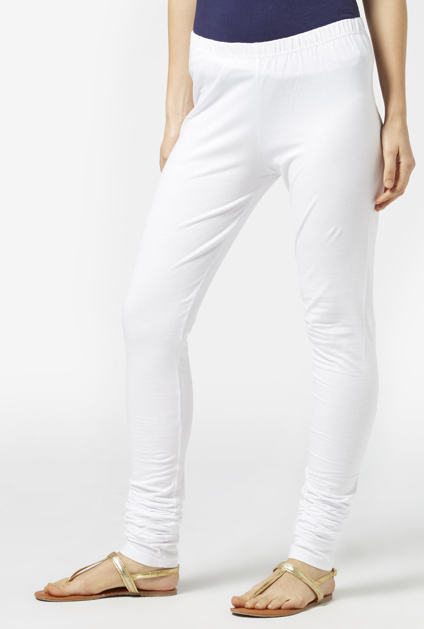 Zudio White Leggings