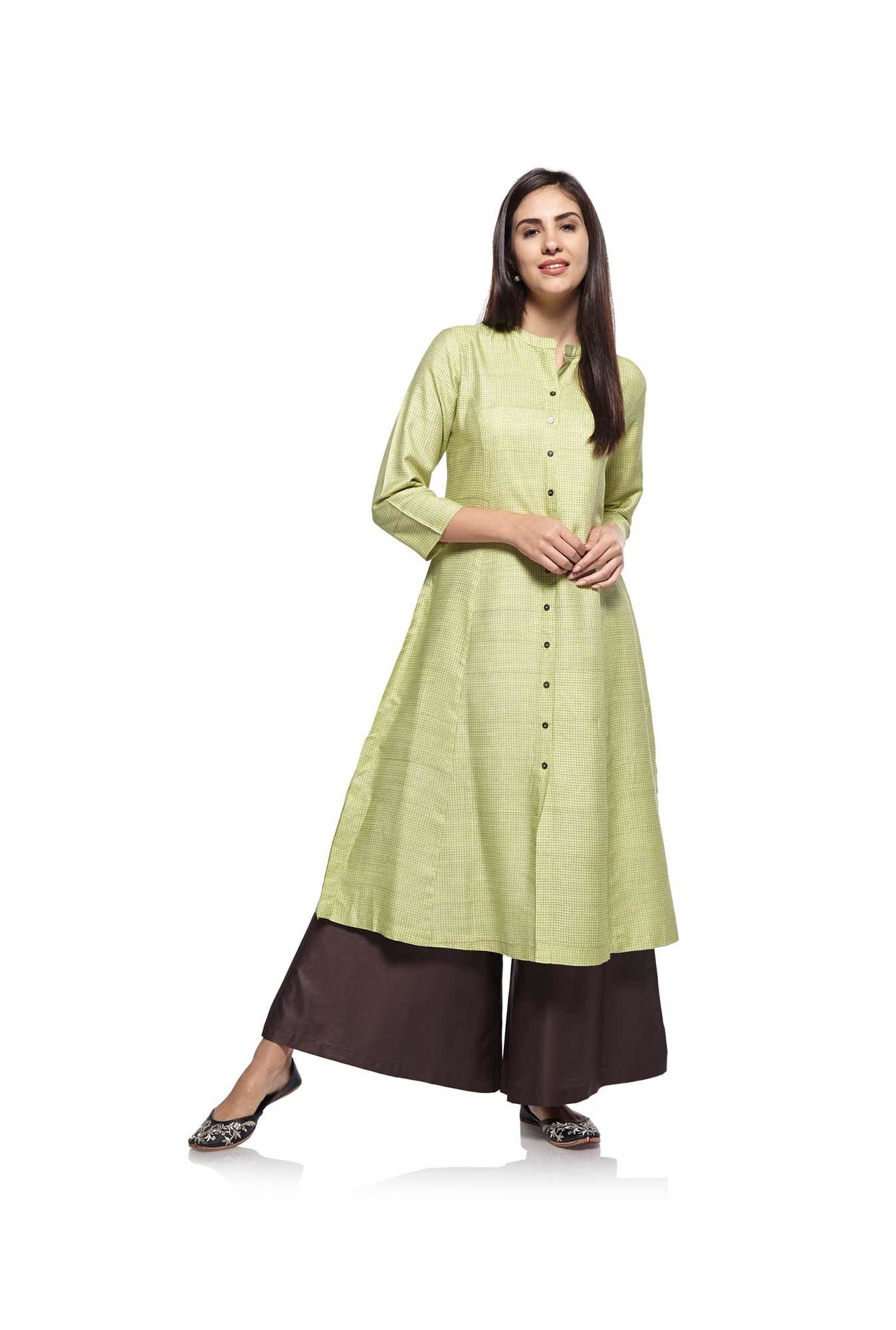 Zuba by Westside Lemon Kurta