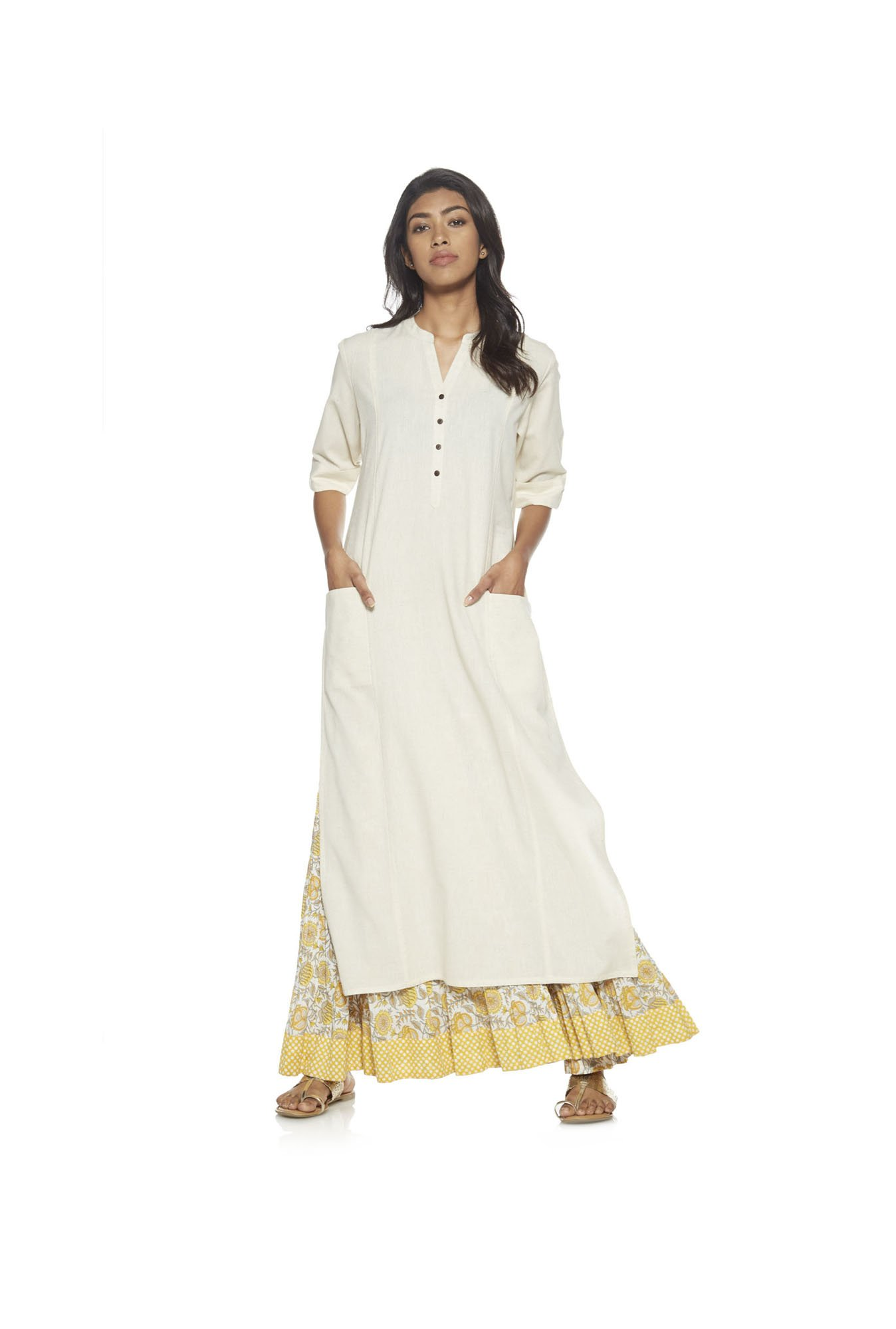Utsa by Westside Off-White Kurta