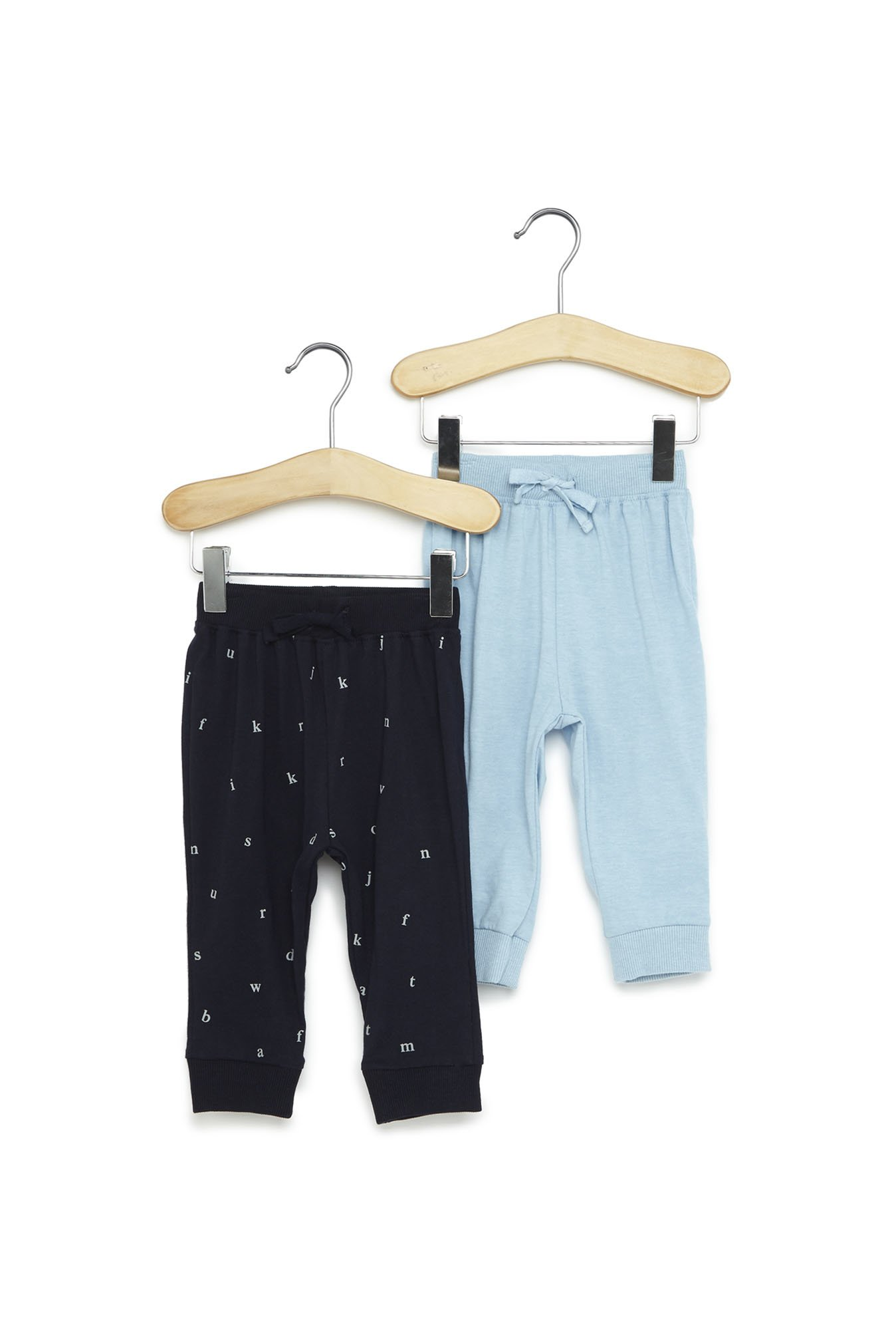 79941ceccf9c Buy Baby HOP by Westside Navy Cotton Pants Set of Two for Infant Boys  Clothing Online @ Tata CLiQ