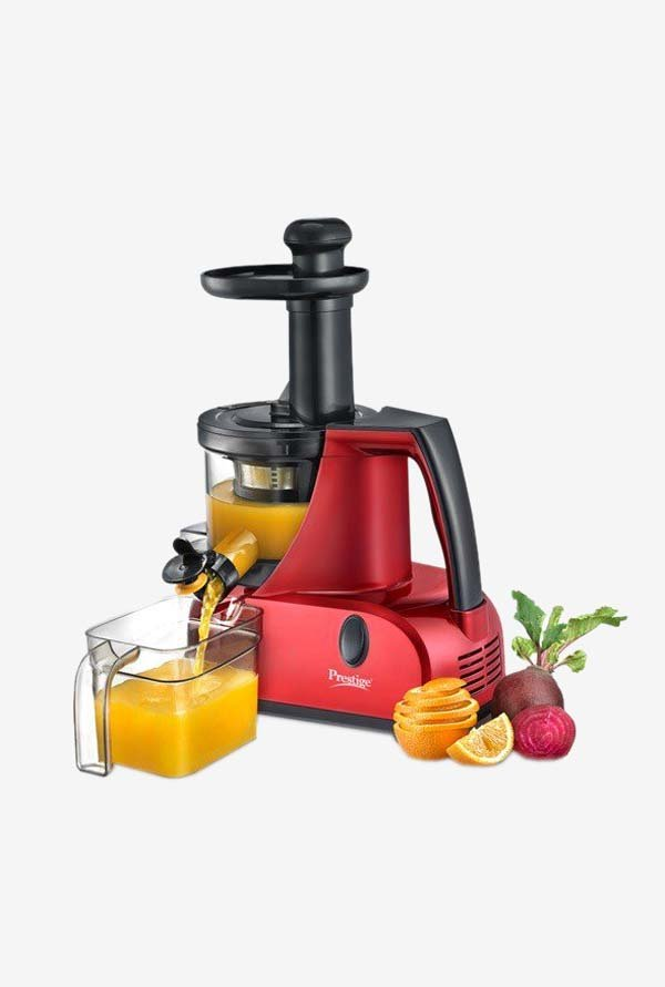 Prestige Squeezo PSJ 3.0 200 Watts Slow Juicer (Multicolor)