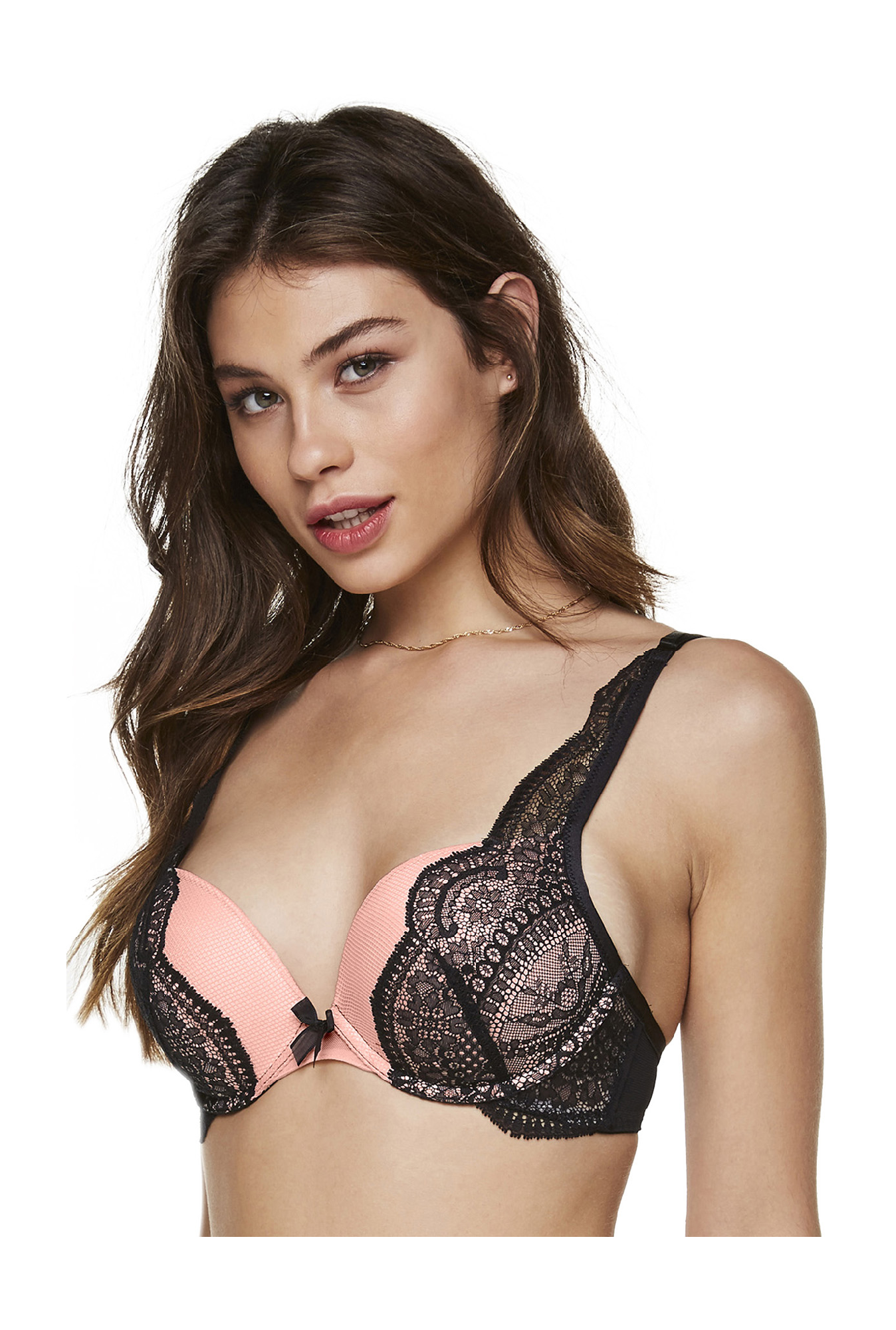 Hunkemoller Rose Pink Under Wired Teddi Balconette Bra