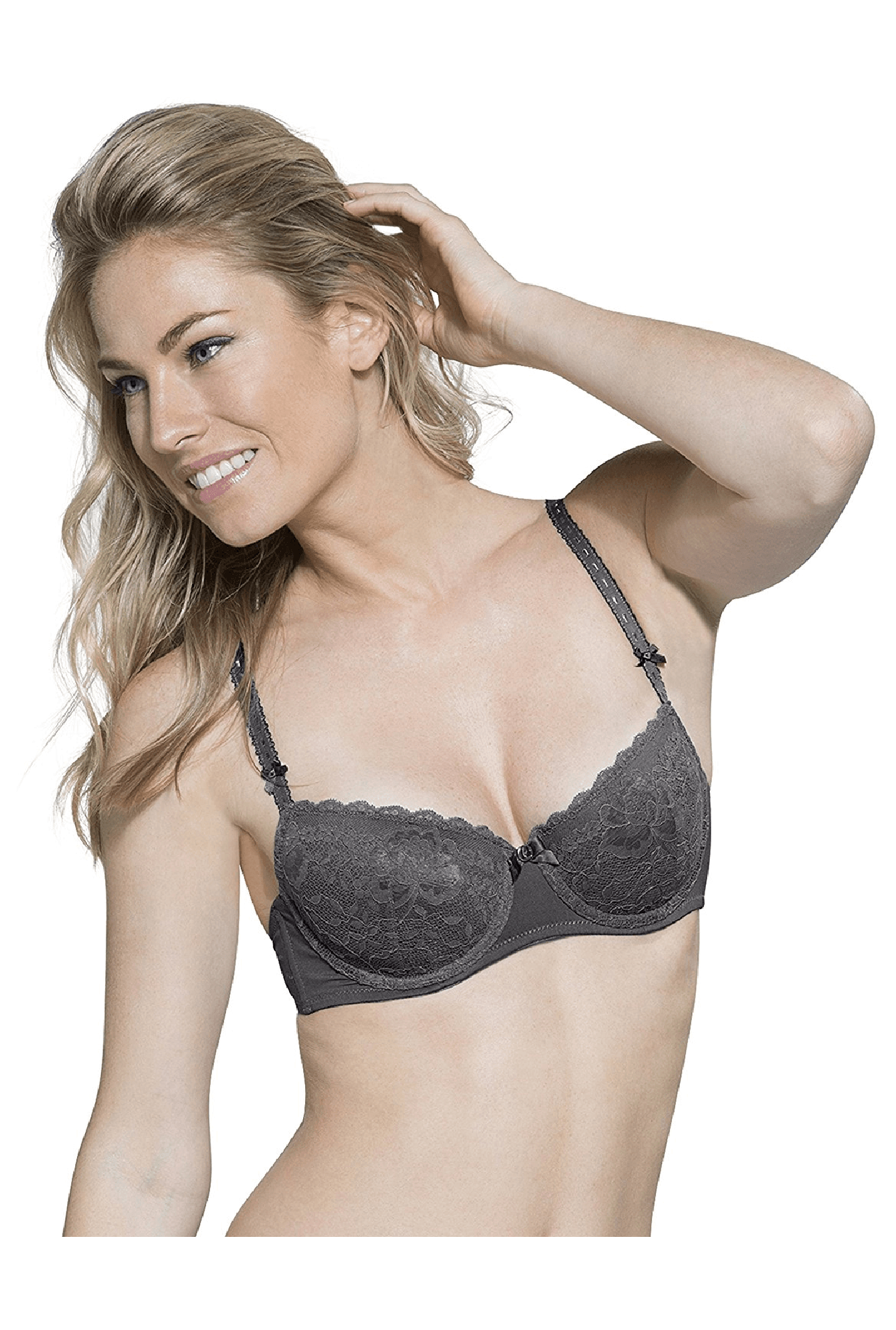 Hunkemoller Nine Iron Maya Padded Under Wired Bra