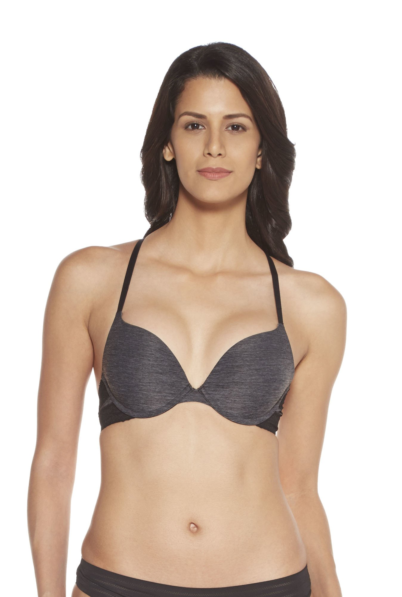 Wunderlove by Westside Charcoal Push-Up Bra