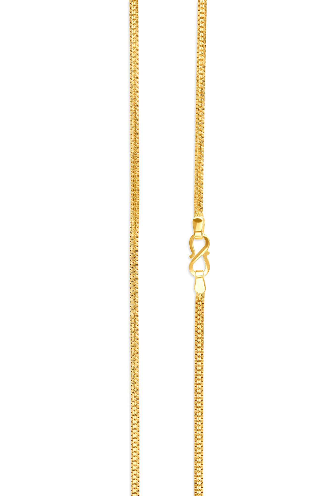 Buy Stylish Yellow Gold Tanishq Necklace 510956CAFMCA00 At ... |Tanishq Gold Chain For Men With Price