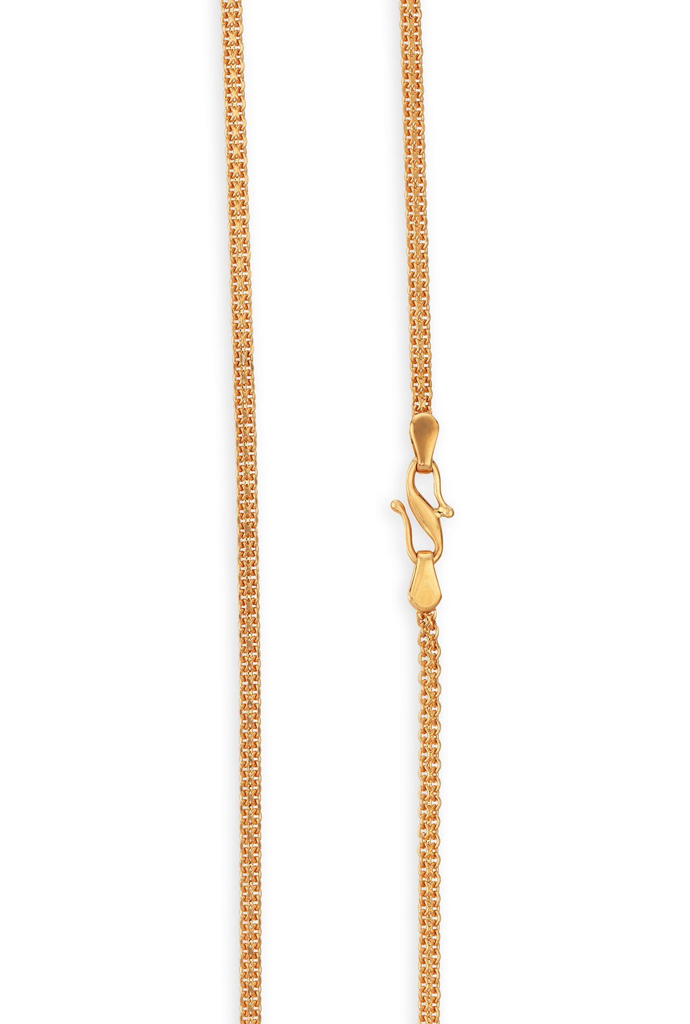 Buy Tanishq 18 Kt Gold Chain Online At Best Price Tata Cliq