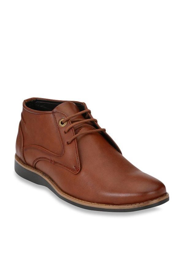 a0bf4801619 Buy Alberto Torresi Tan Chukka Boots for Men at Best Price @ Tata CLiQ
