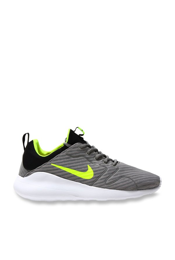 buy online d12cd b60ed Buy Nike Kaishi 2.0 SE Grey   Black Running Shoes for Men at Best Price    Tata CLiQ