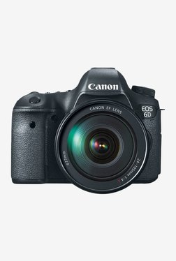 Canon EOS 6D DSLR with (24-105mm Lens) DSLR Camera (Black)