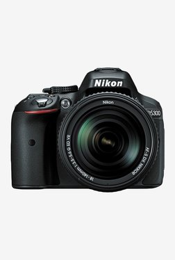 Nikon D5300 (AF-S 18-140 mm Lens) DSLR Camera 16GB Card + Camera Bag (Black)