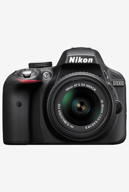 Nikon D3300 24.2MP DSLR Camera Black