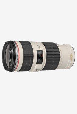 Canon EF 70-200mm  f/4L IS USM Lens White