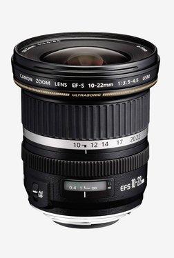 Canon EF-S 10-22mm f/3.5-4.5 USM Lens Black