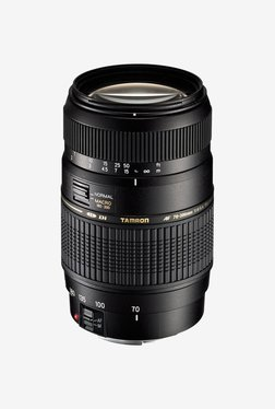 Tamron A17 AF 70 300mm F/4 5.6 Di LD MACRO 1:2 Telephoto Lens for Canon DSLR  Black  Tamron Electronics TATA CLIQ