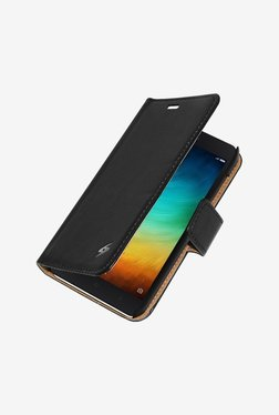 Amzer Flip Case Black for Mi 4i