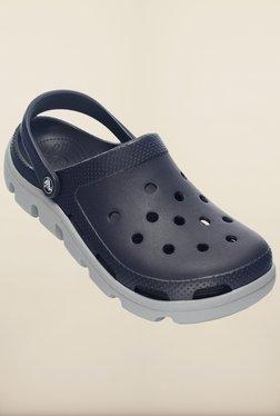 365f4188b076 Crocs Duet Sport Navy Blue Clogs for Men online in India at Best ...