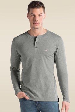 5be0da44a5f5d Jockey Grey Melange Long Sleeve T-Shirt - US87