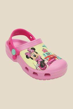 Kids CC Disney Minnie Jet Set Carnation Clogs
