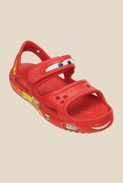39395db0375e9a Crocs Crocband Ii Lightning Mcqueen Red Sandals for Boys in India ...