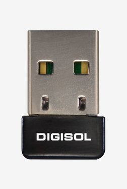 DigiSol DG WN3150Nu 150 Mbps Wireless USB Adapter  Black  DigiSol Electronics TATA CLIQ