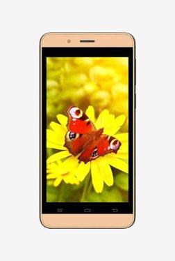 Intex Aqua Pro 4G Dual SIM 8 GB (Champagne)