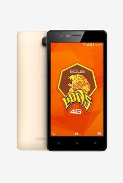 Intex Aqua Lions 4G 8 GB (Champagne) 1 GB RAM, Dual Sim 4G