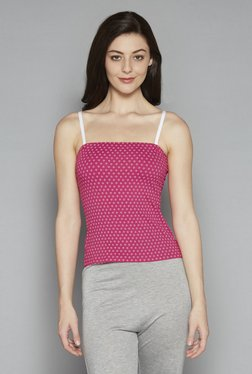 Wunderlove By Westside Pink Strapless Camisole