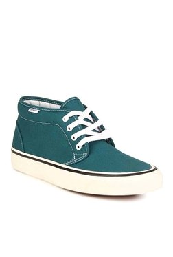 Vans 50th STV Teal Green Ankle High Sneakers 01092d501